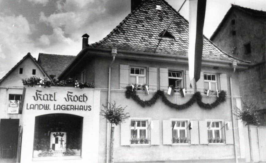 KOCHS historisches Bild vom Stammhaus