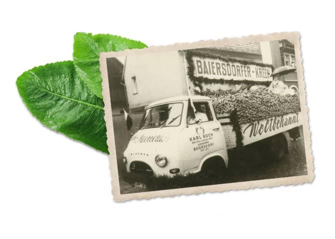KOCHS historisches Bild eines Transporters